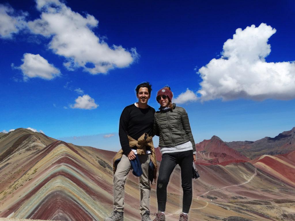 montagnes arc en ciel Pérou