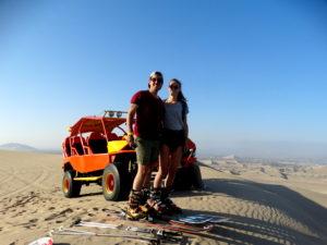 Oasis Huacachina buggy dunes