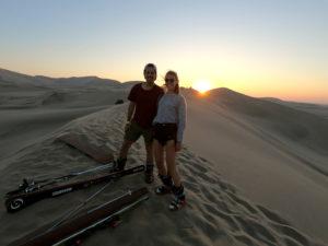 Ski Désert de dunes d'Ica