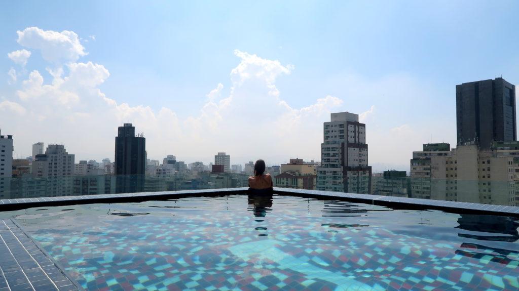 sao paulo roof top pool