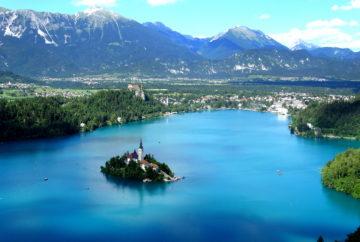 vue lac de Bled