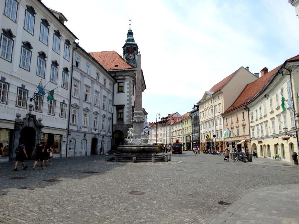 centre historique ljubljana
