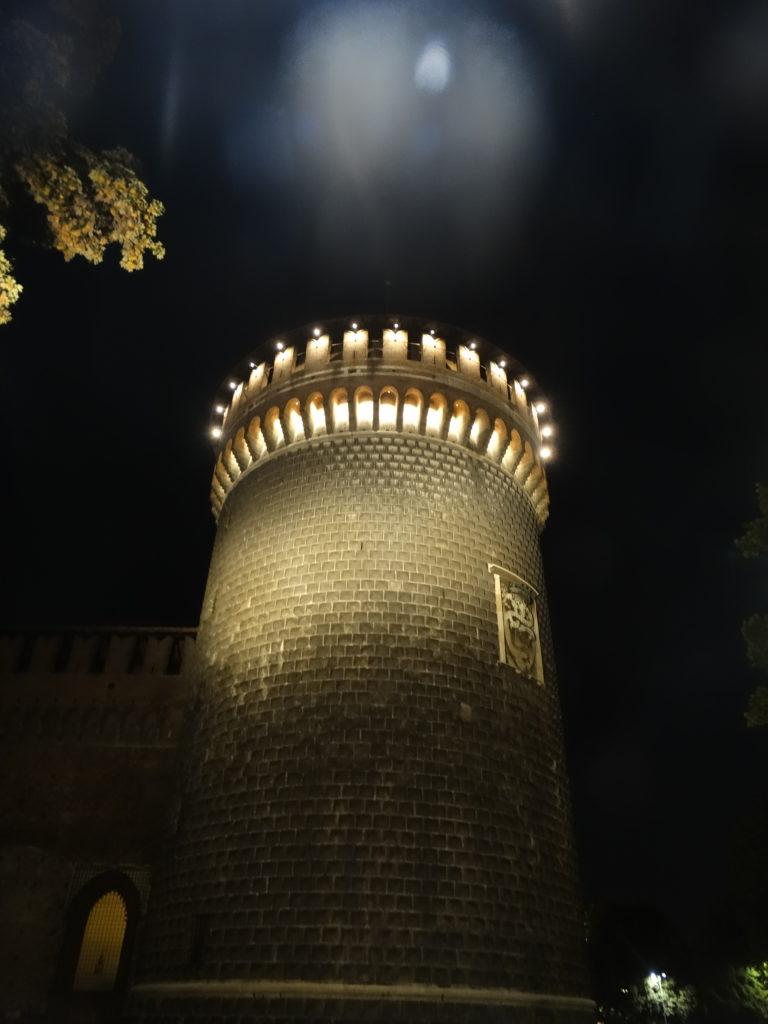 milan de nuit