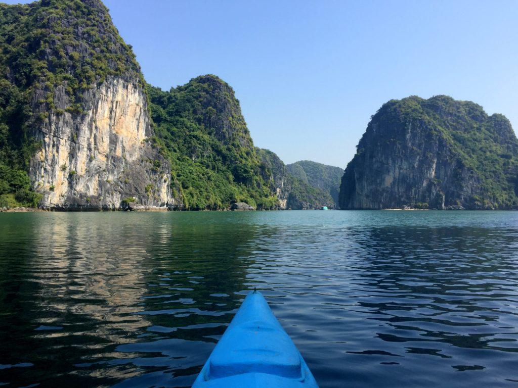 canoe lan ha bay