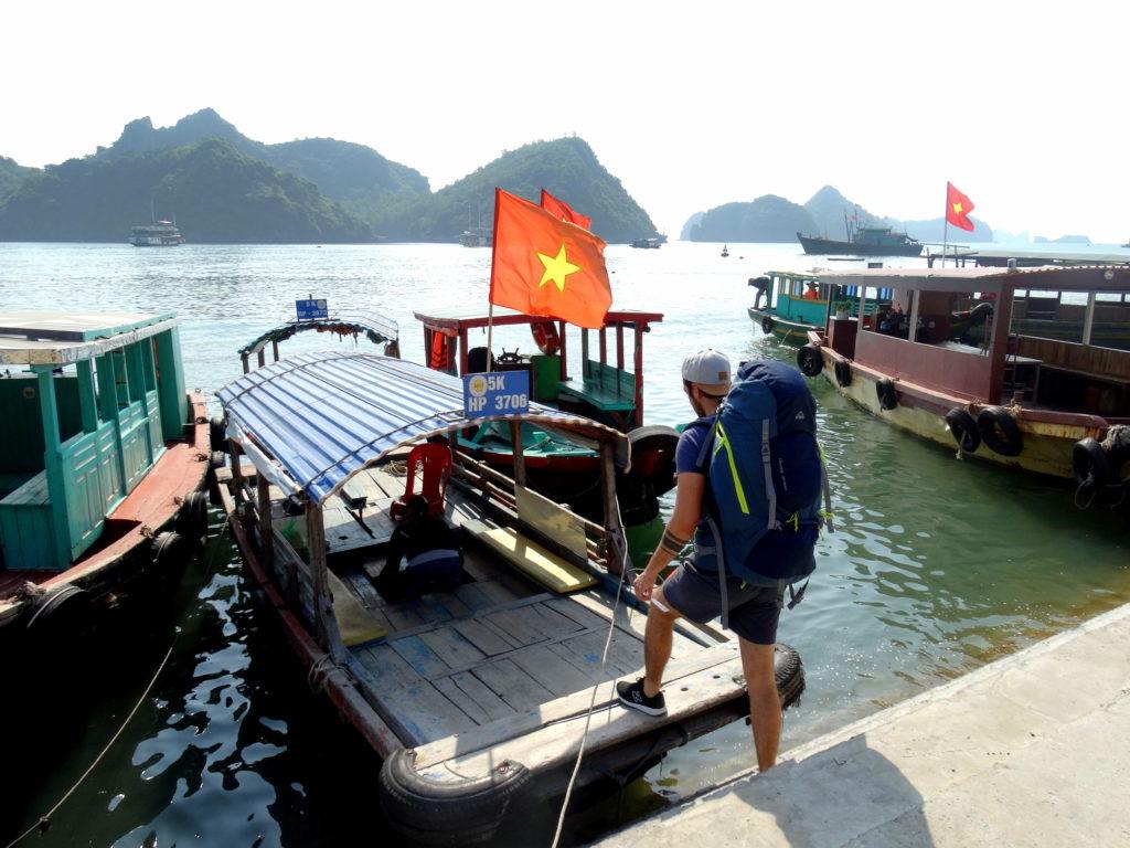 tour bateau privé cat ba island