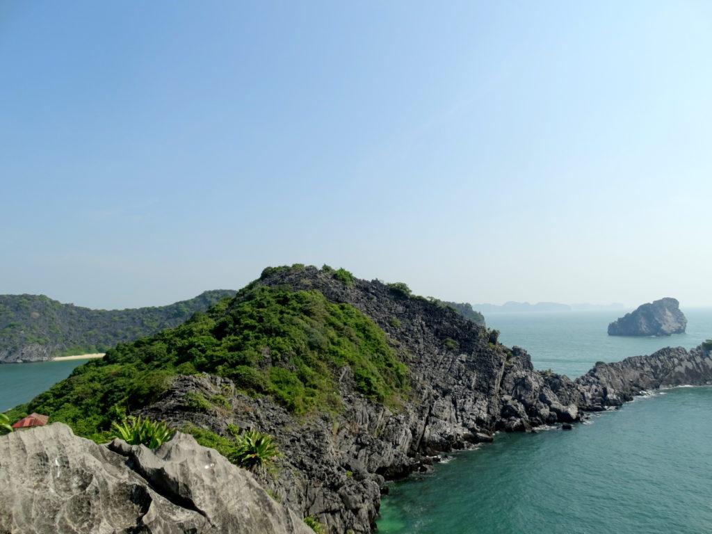 cat ba monkey island view