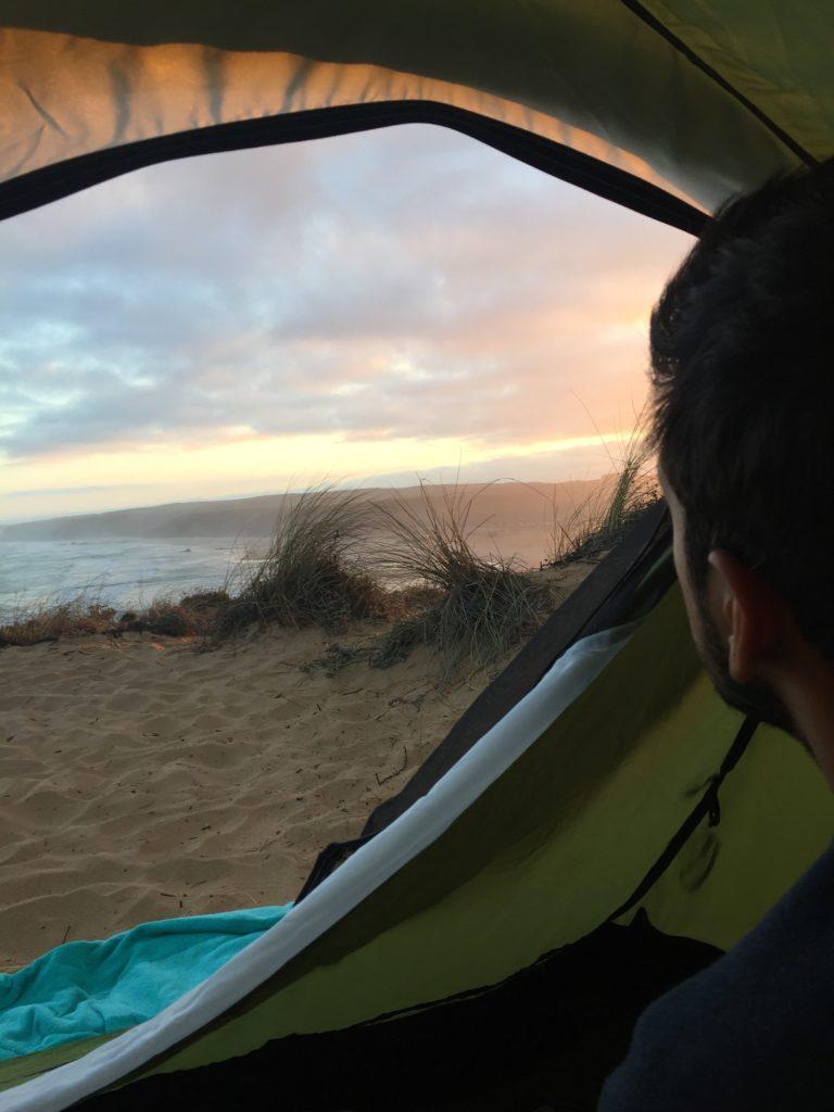 bordeira camping