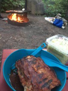 idée repas camping