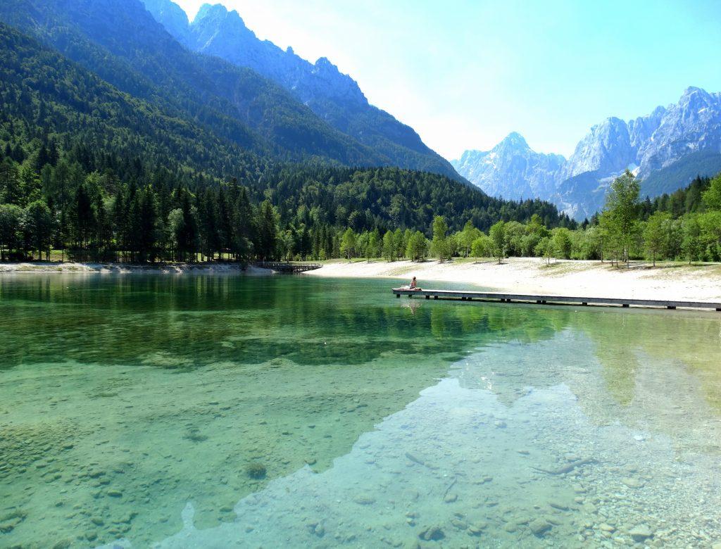 lac jasna slovénie
