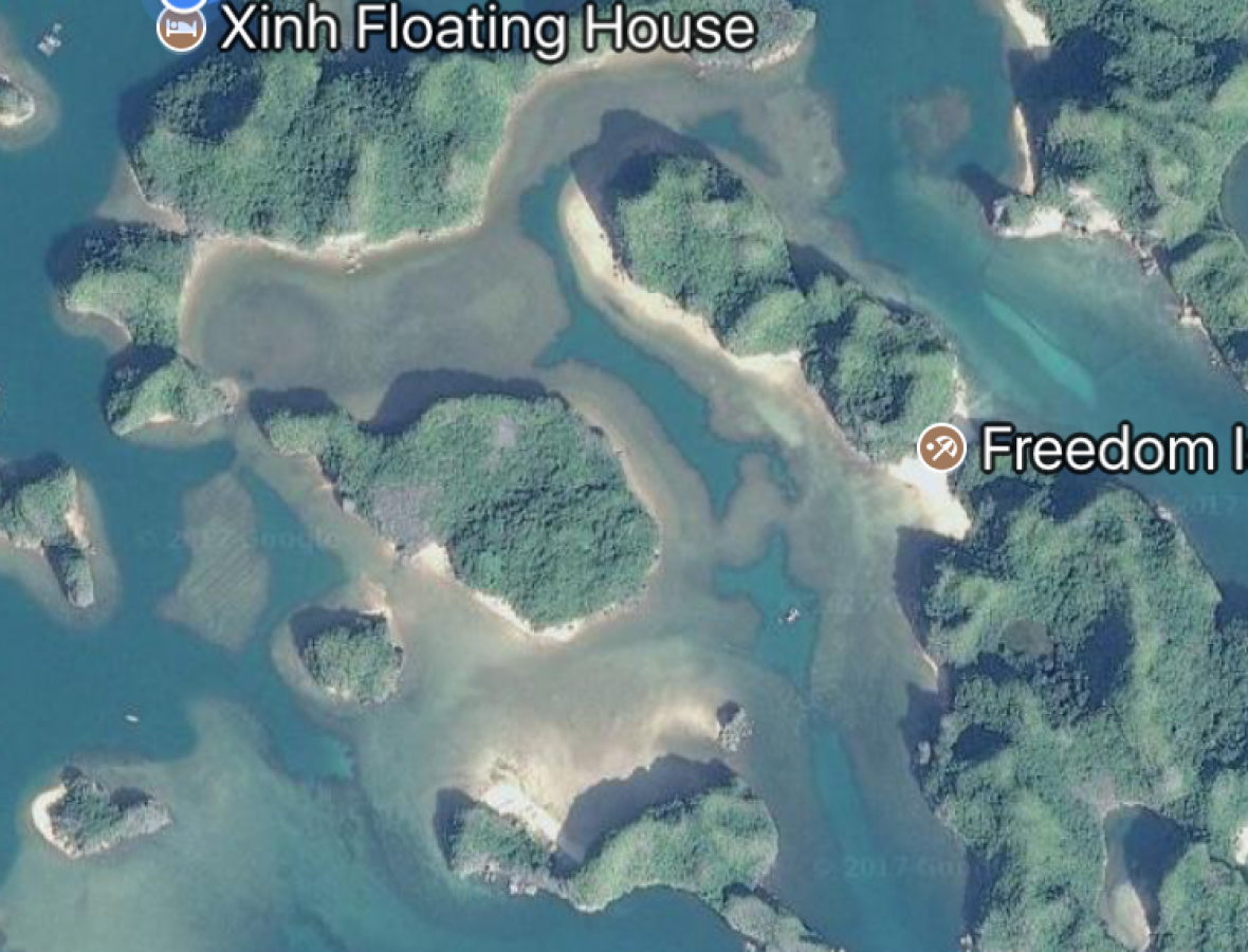 map Xinh Floatting House